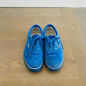 Vans x Undefeated Youth Blue Terrycloth Sneaker